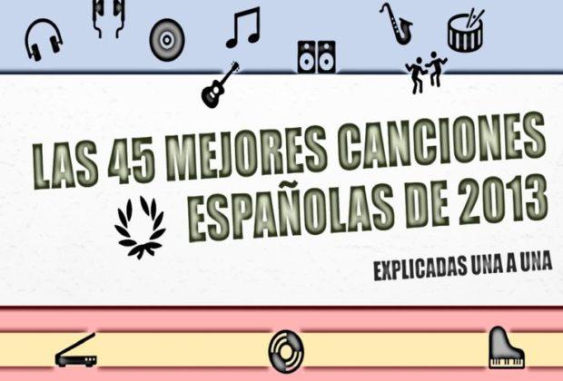 canciones españolas de 2013
