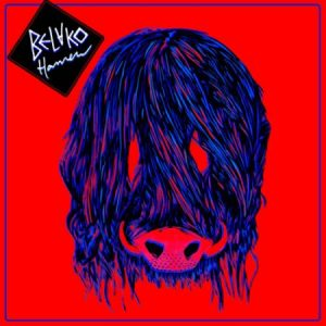 Portada de Hamen, el segundo álbum de Belako.