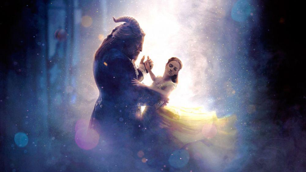 bella y bestia son de película la bella y la bestia