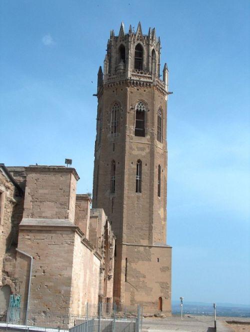 Campanario de la Catedral de la Seu Vella (Lérida)