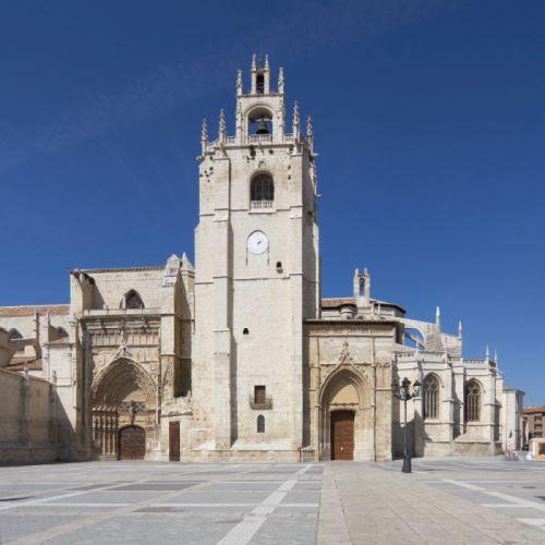 Torre de la Catedral de San Antolín de Palencia.