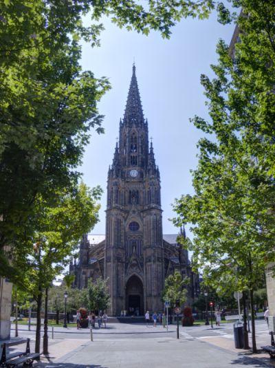 Torre de la Catedral del Buen Pastor de San Sebastián