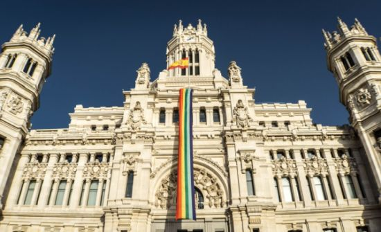 World Pride Madrid 2017 bandera