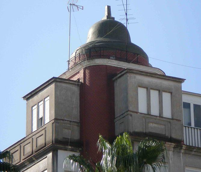 art decó en Málaga racionalismo la Campana