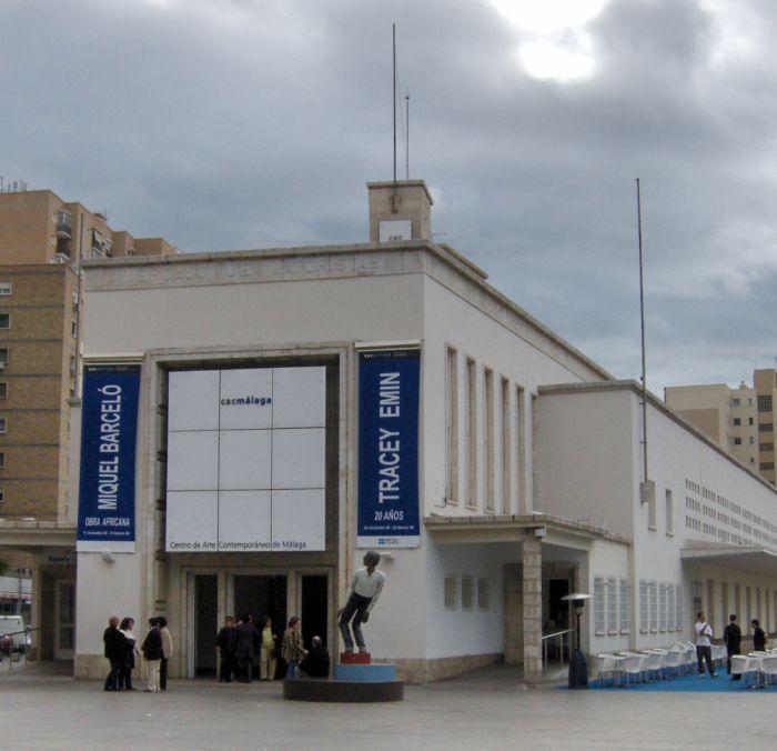 art decó racionalismo Málaga arte contemporáneo