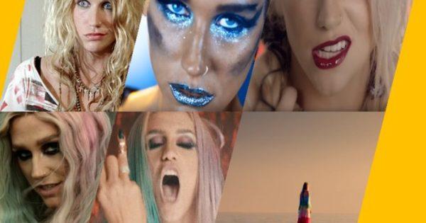 Discografía de Kesha temas poco conocidos