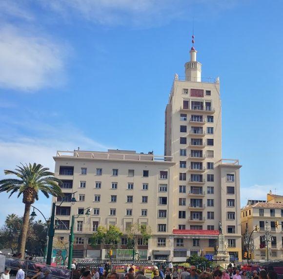 Rascacielos La Equitativa Málaga art decó