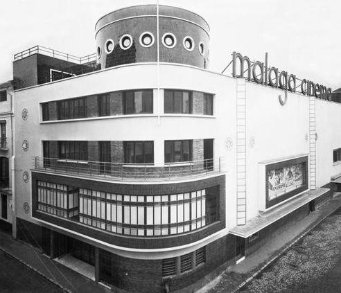 Málaga Cinema desaparecido art decó en Málaga