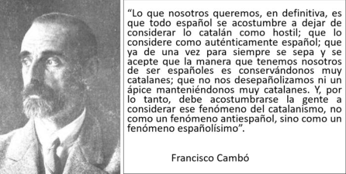 Origen de Cataluña Cultura Diversa Francisco Cambó