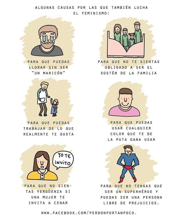 feminismo hombres
