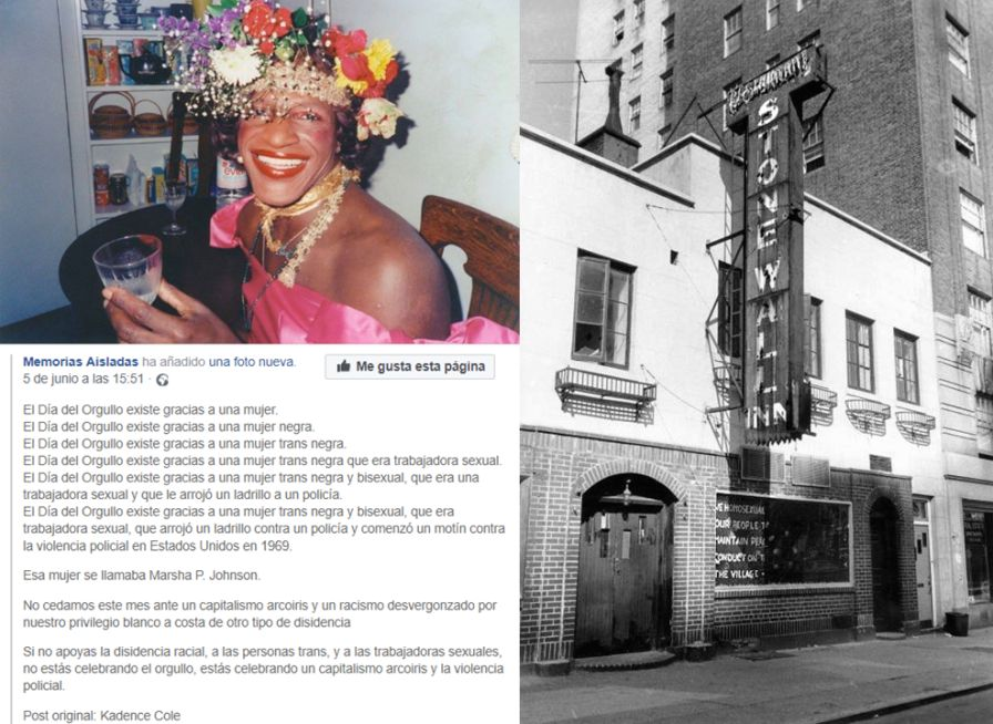 Orgullo de Las Ramblas origen en Stonewall
