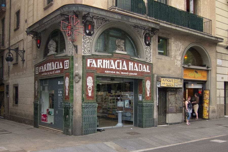 Farmacia Nadal La Rambla