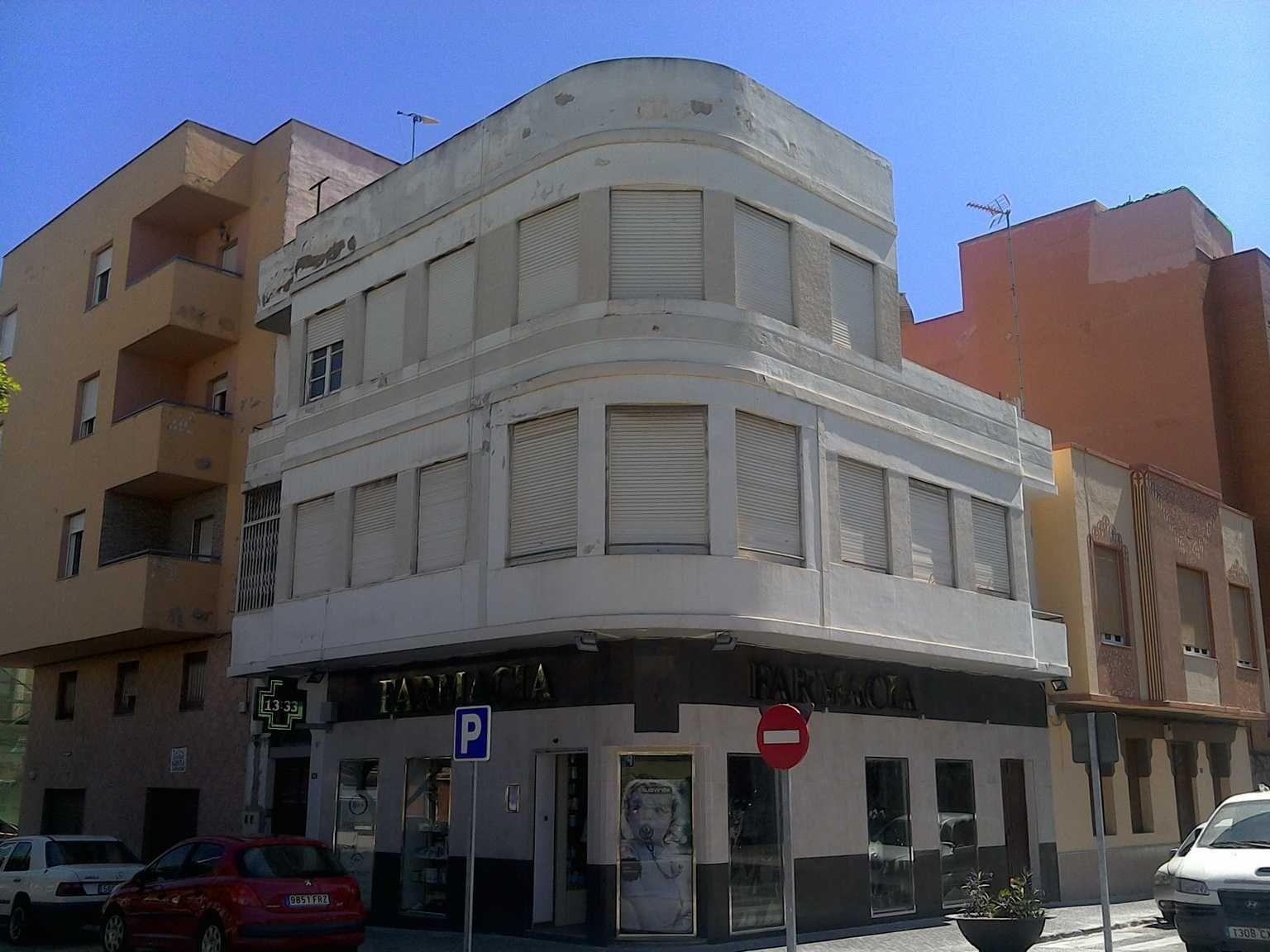 Calle de la Legión, 25 (esquina con calle Aragón)