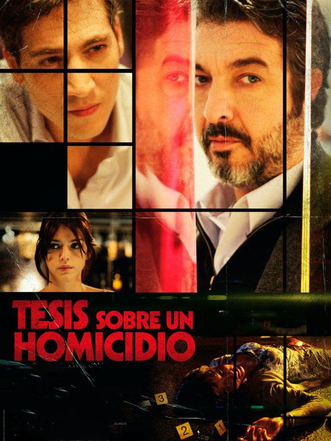 Cartel de la película Tesis sobre un homicidio