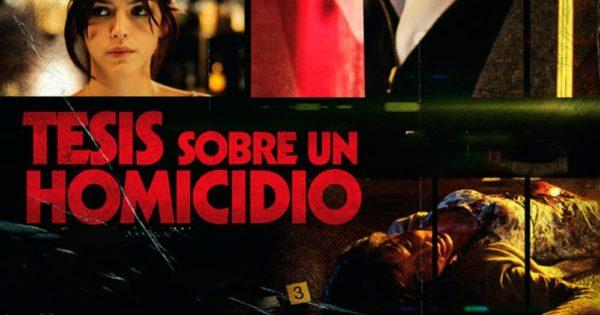 Crítica película Tesis sobre un homicidio