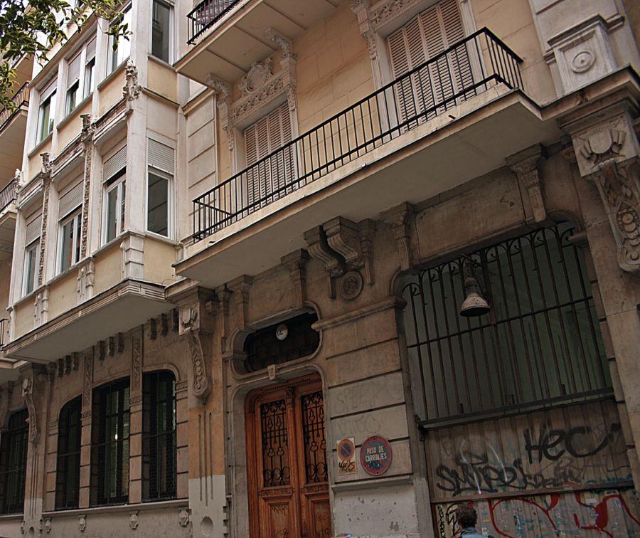 Antigua sede del Semanario Nuevo Mundo (calle Larra, 12)