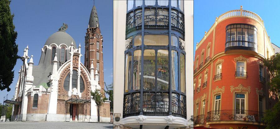 Apogeo Modernismo Madrid