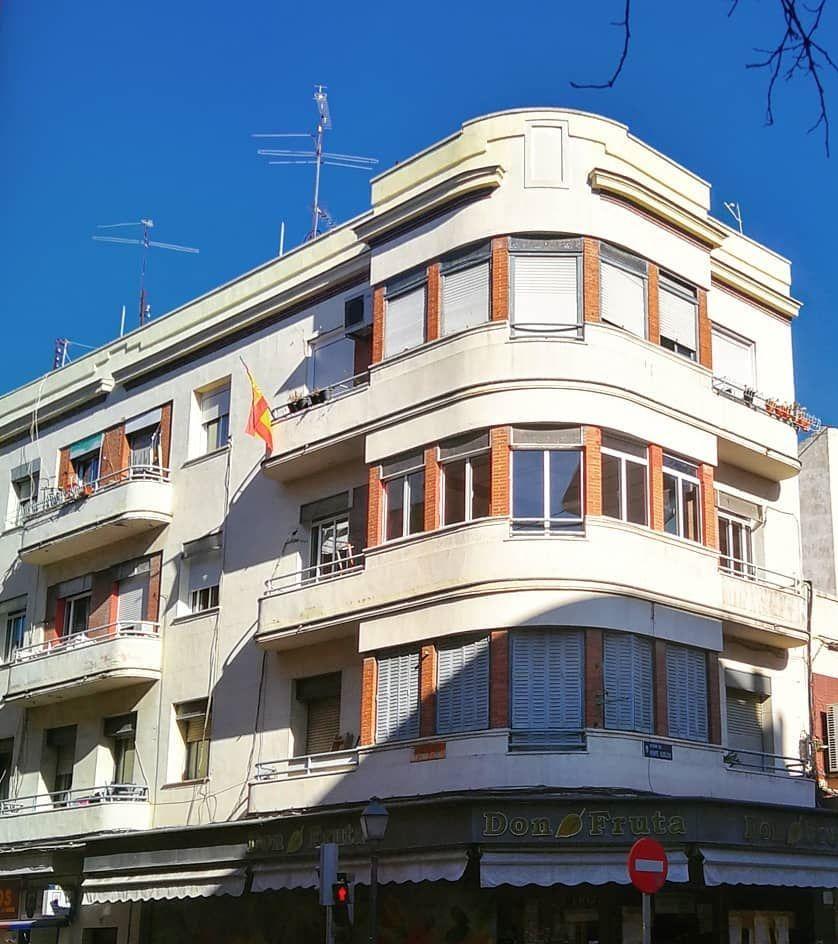 Arquitectura Art Decó en Vallecas