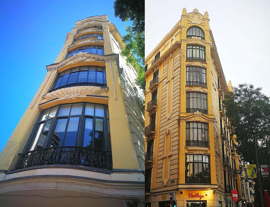 Primer edificio de viviendas para Tomás Marina y Valentín Roca (calle Alcalá, 105)