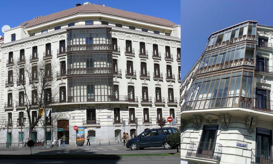 Viviendas para los Señores Matas (calle Alcalá, 61)