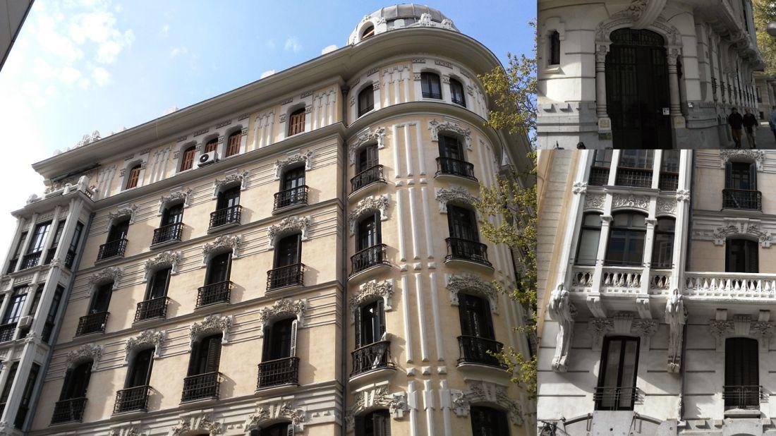 Viviendas para Enrique Gutiérrez I (calle Alfonso XII, 36)