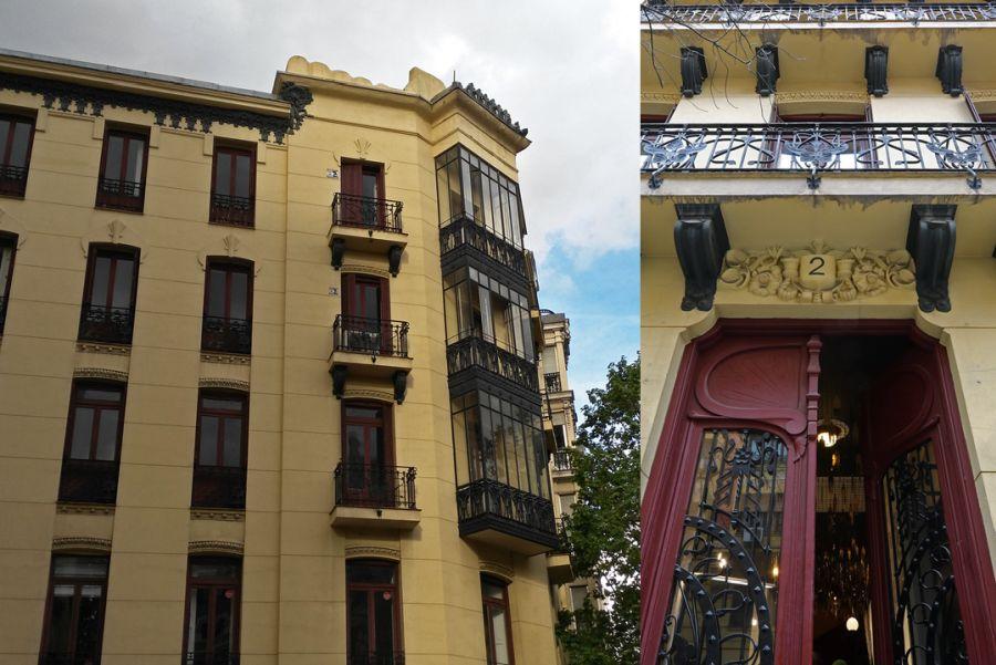 Viviendas para el Marqués de la Velilla de Ebro (calle Francisco de Rojas, 2)