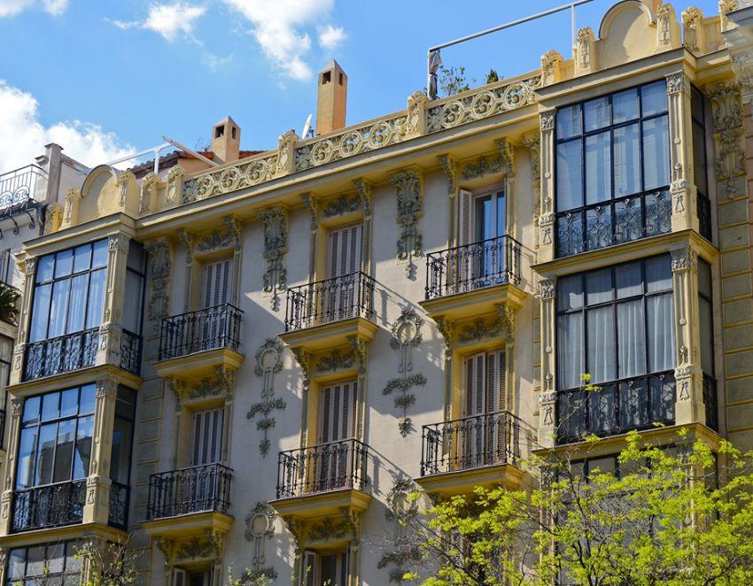 Primer edificio de viviendas para José Mitjans (calle Goya, 59)