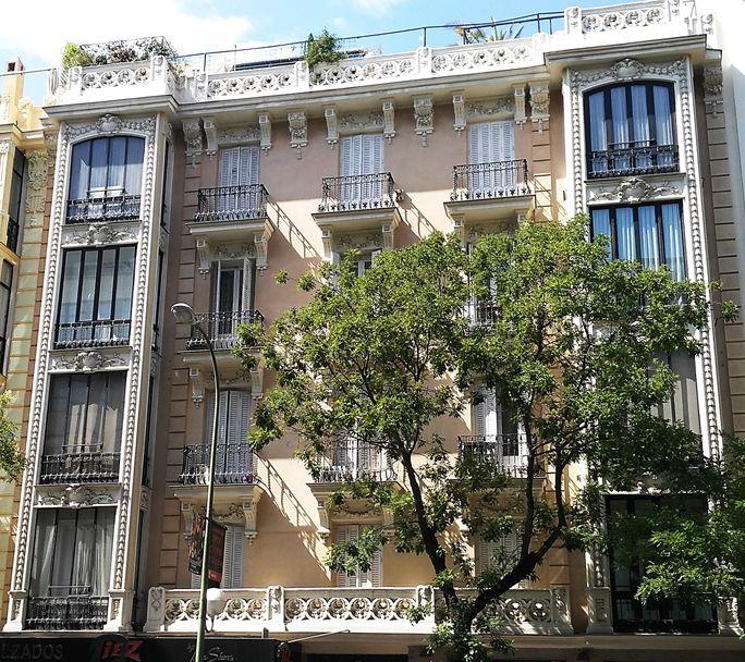 Segundo y último edificio de viviendas para José Mitjans (calle Goya, 61)