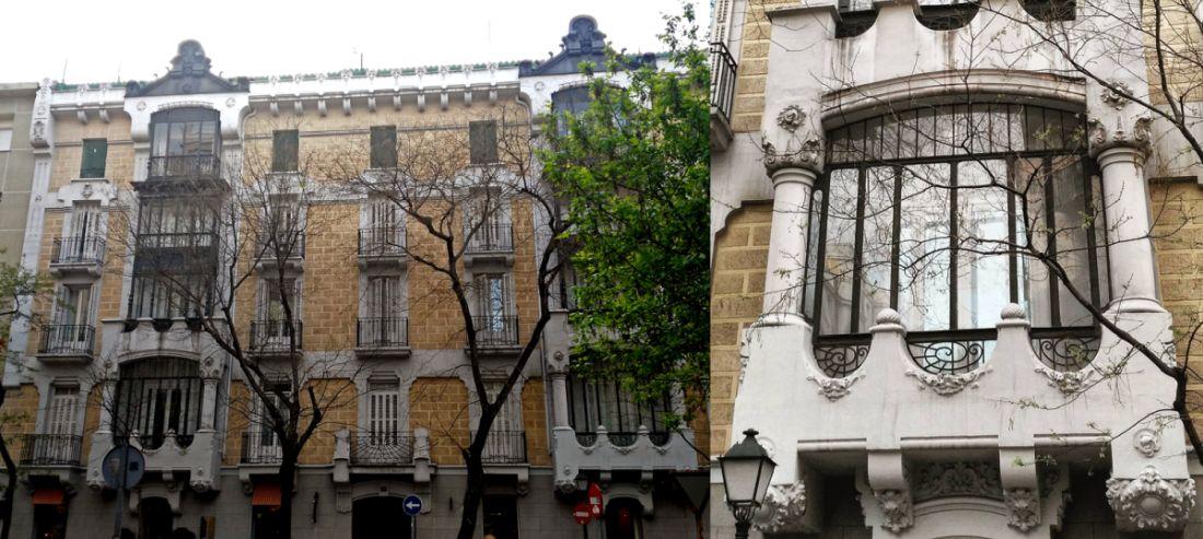 Viviendas para José Peña Chávarri (calle Lagasca, 19)