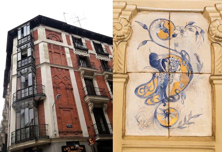 Casa de la Marquesa de Eguarás (calle Barquillo, 22)