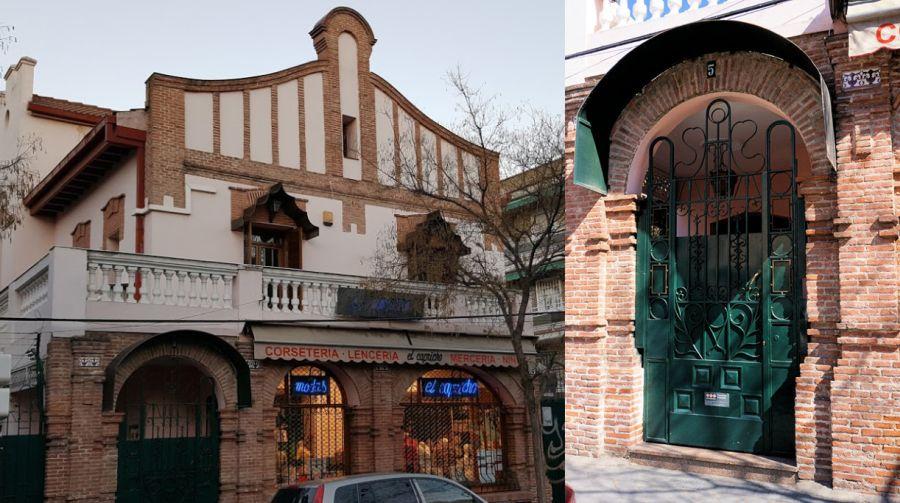 El precioso Madrid modernista en la calleFederico Grases 5