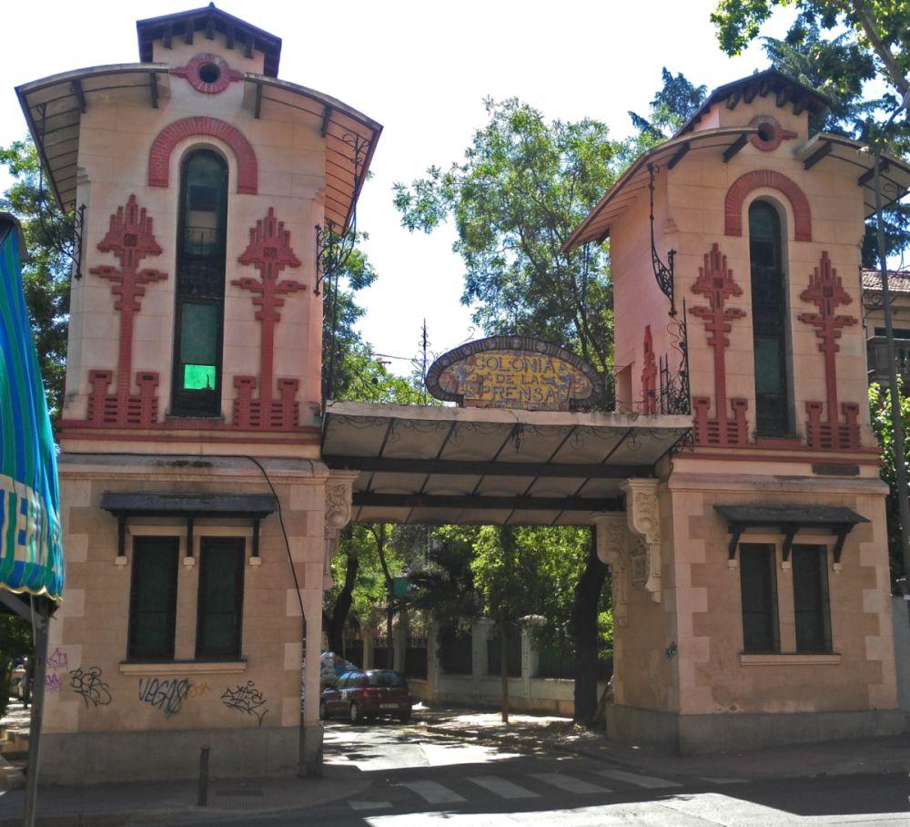 La Colonia de la Prensa en Carabanchel es parte del Madrid modernista