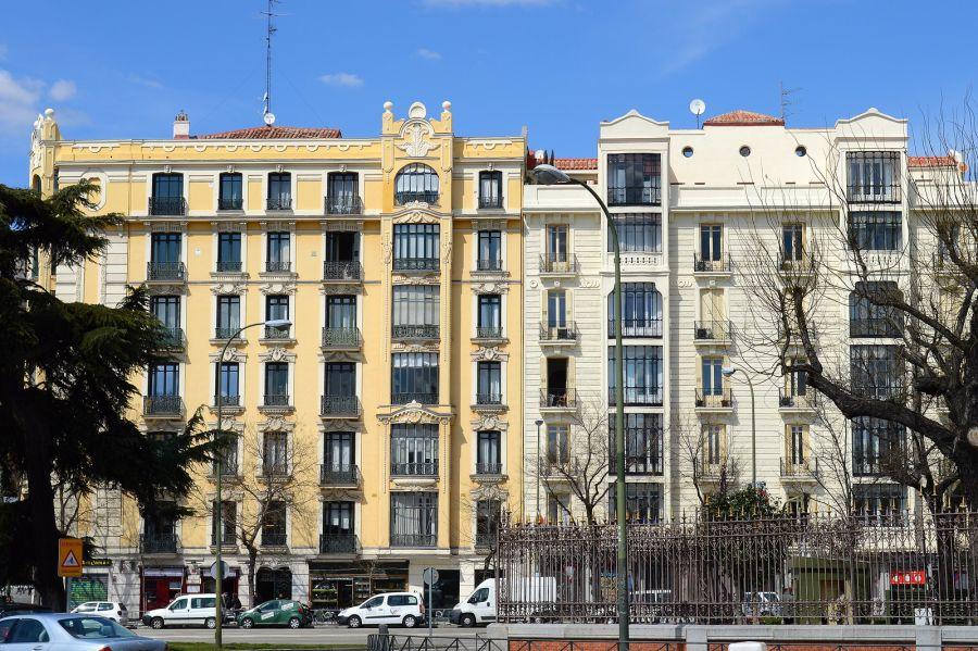 Madrid Art Nouveau frente al Retiro