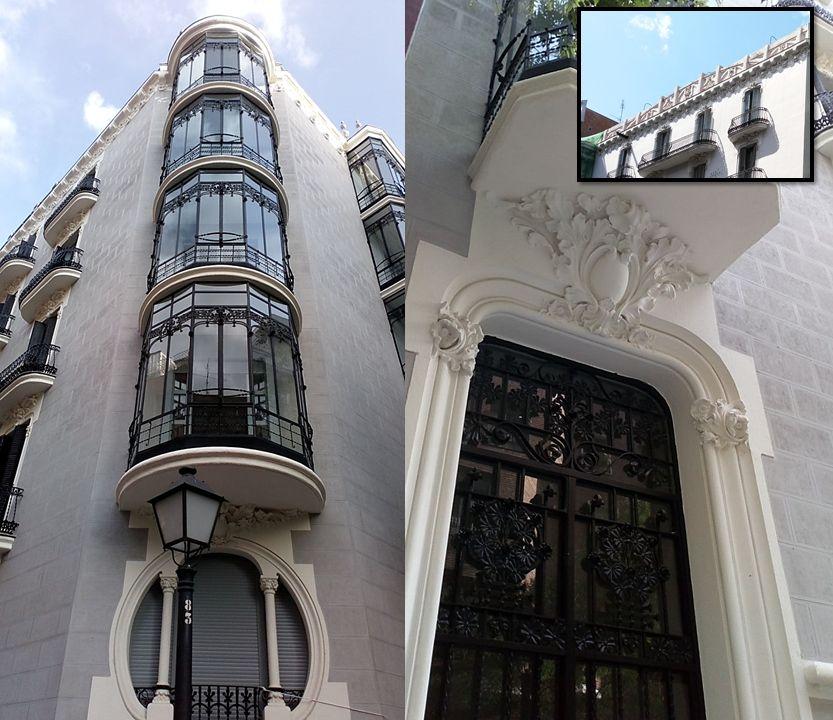 Viviendas para José María de Antonio (calle Ayala, 63)