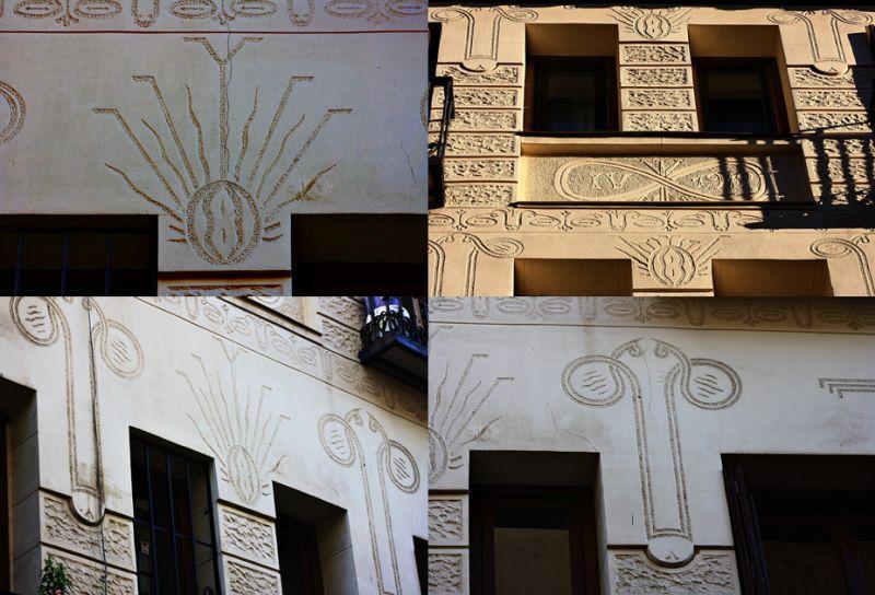Viviendas para Luis Navarrete, conocidas como la Casa de los Penes y las Vaginas (calle Montserrat, 12)