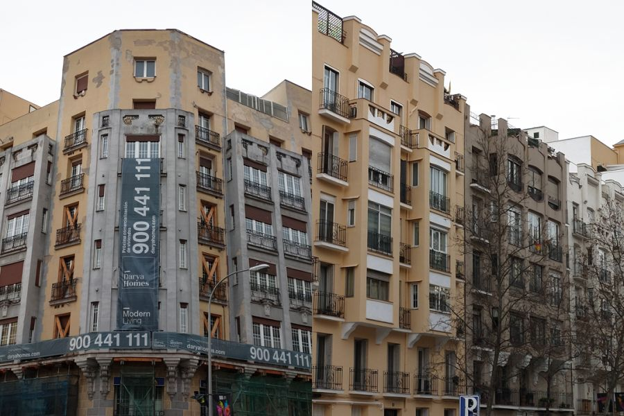 4 edificios de viviendas para David Macías (Santa Engracia, 129 y los números 18, 16 y 14 de la calle Ríos Rosas)