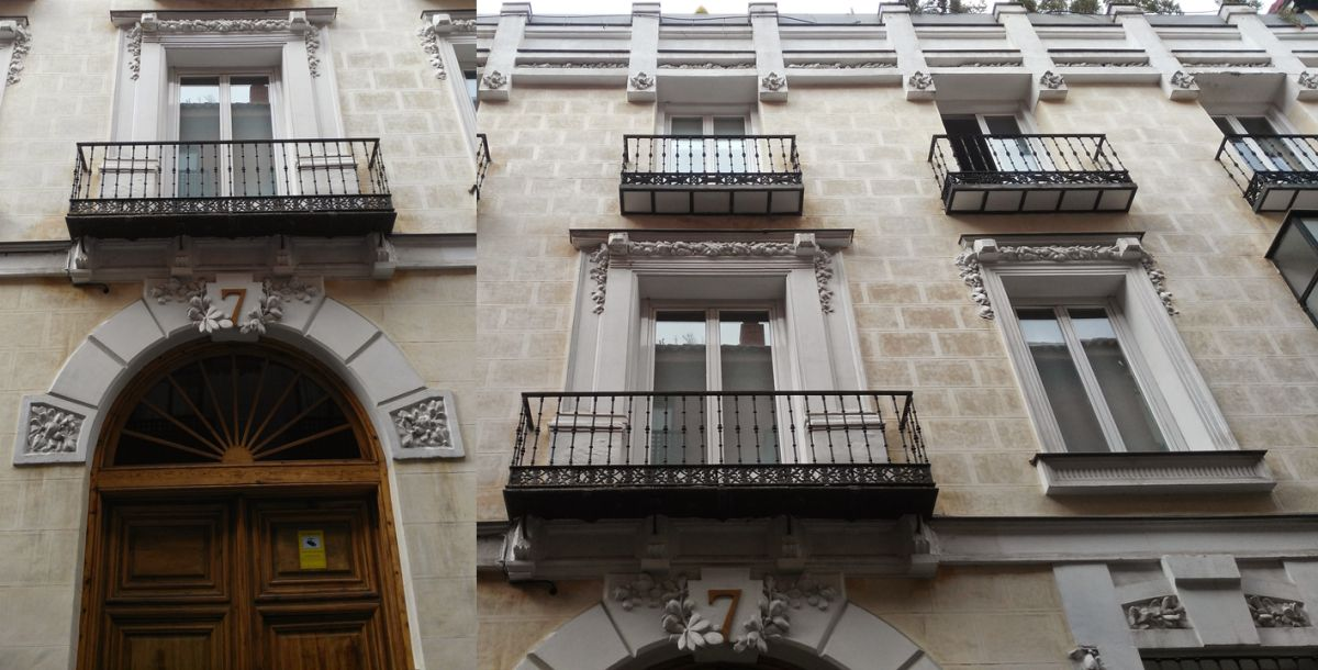 Viviendas para Gregorio Villoreja (calle Piamonte, 7)