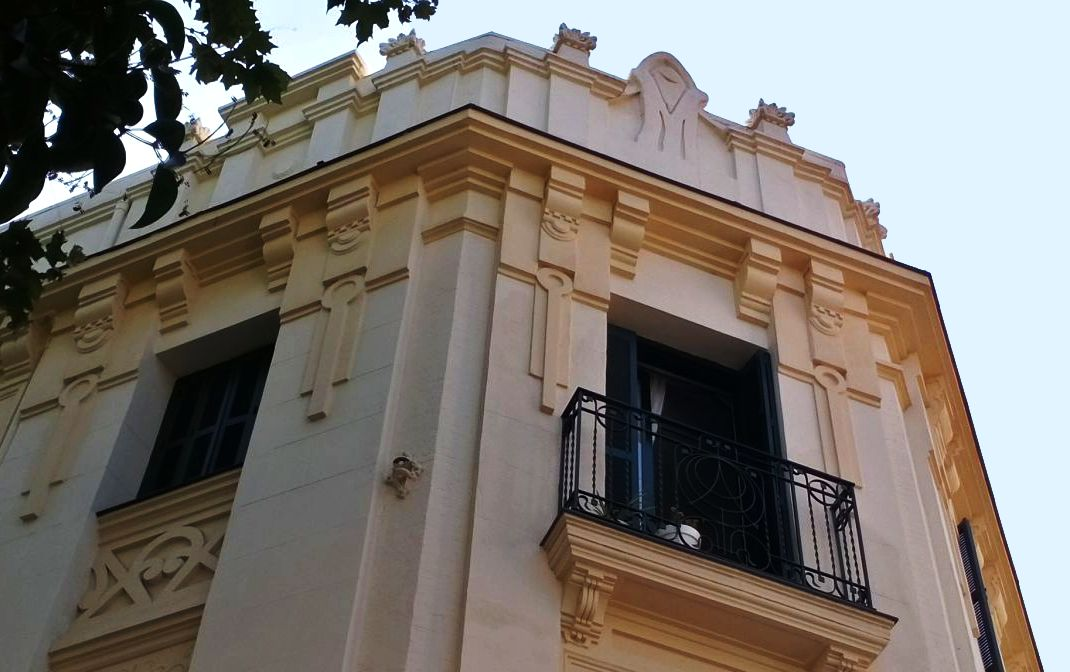 Madrid modernista en calle Santa Juliana 1