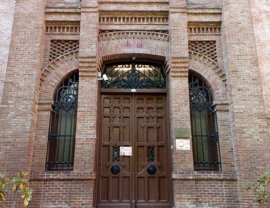Colegio Blanca de Castilla (antes, de las Damas Negras. Paseo de Eduardo Dato, 2)