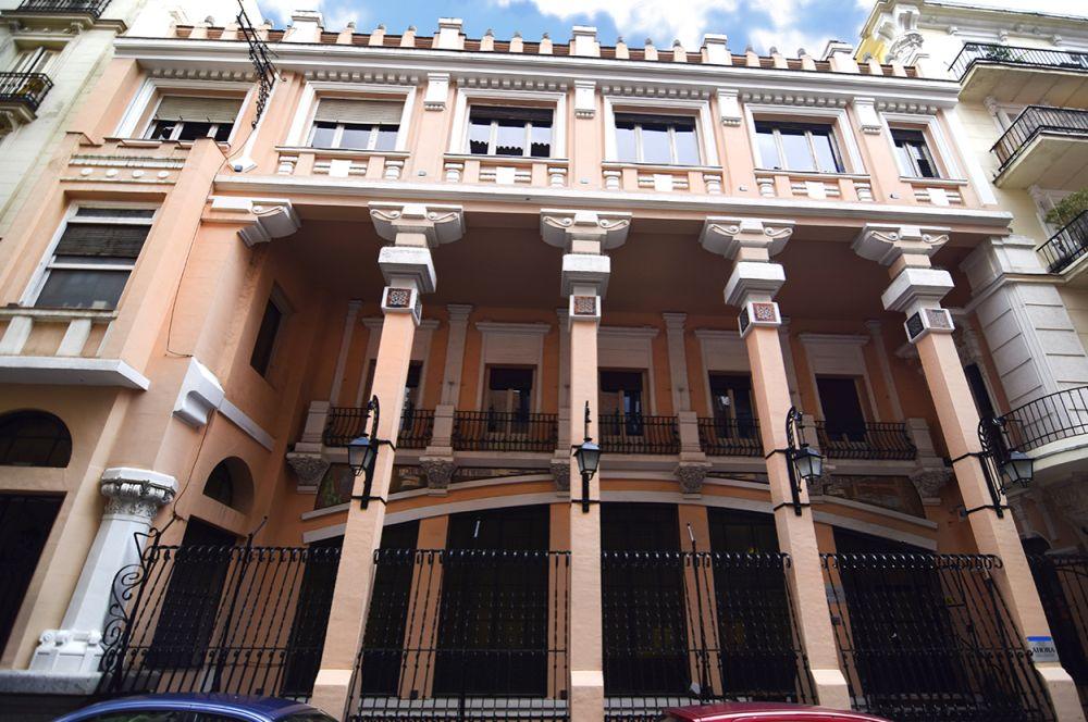 Antigua sede del Semanario Nuevo Mundo y actual Instituto de Diseño (calle Larra, 14)