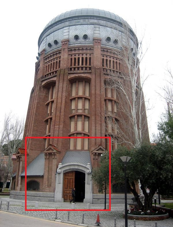 Depósito elevado del Canal de Isabel II (calle Santa Engracia, 125 y 127), Modernismo secesionista y Neomudéjar