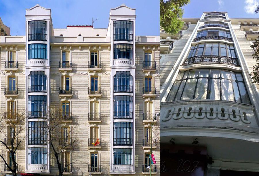 Segundo y último edificio de viviendas para Tomás Marina y Valentín Roca (calle Alcalá, 107)