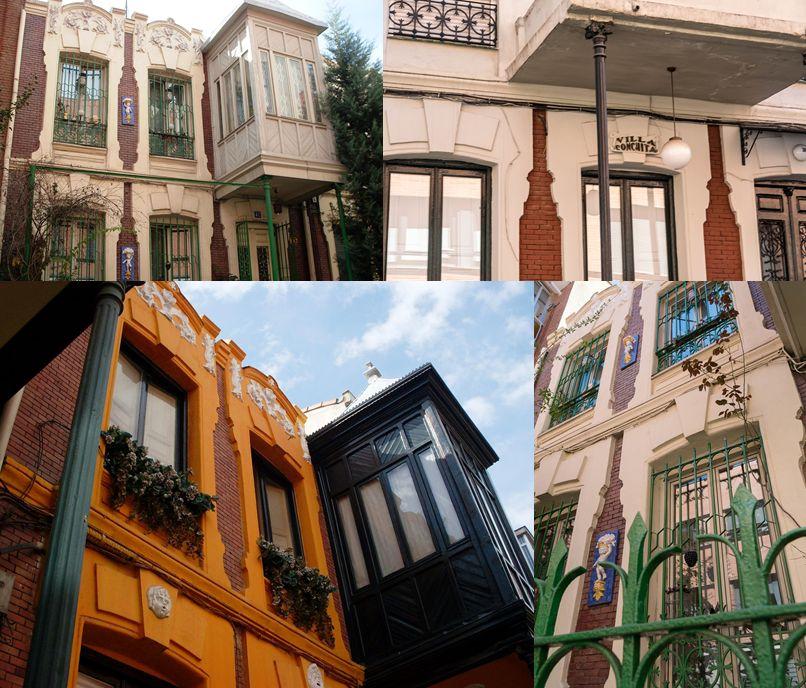 Viviendas unifamiliares para Francisco de Alba (calle Roma 38, 40, 42 y 44)
