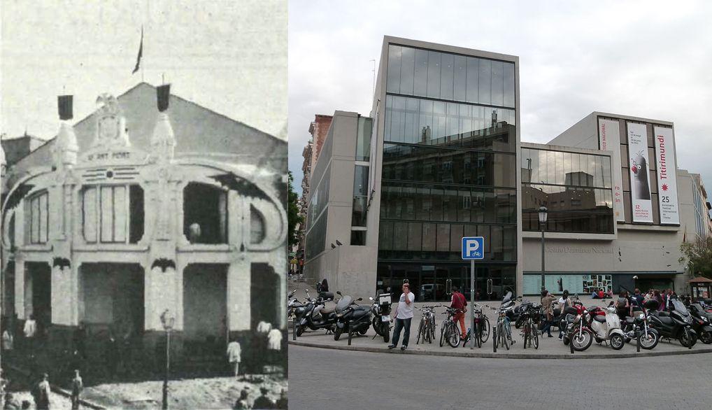 Modernismo madrileño desaparecido