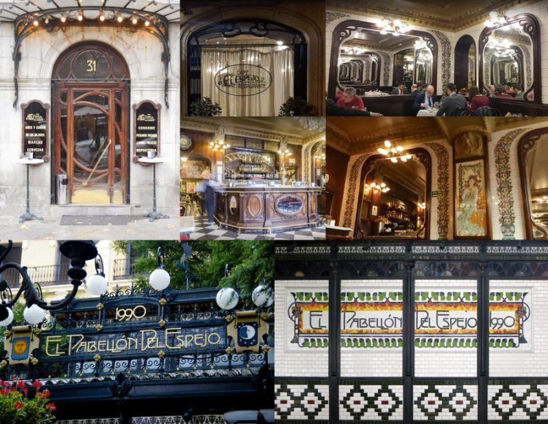 Modernismo madrileño: el café restaurante El Espejo es neomodernista