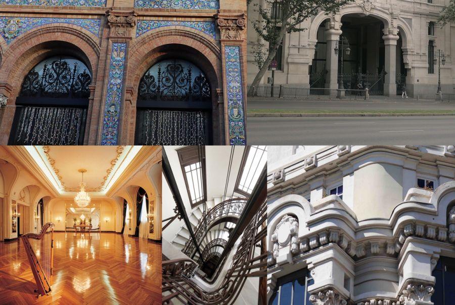 Modernismo madrileño en el paseo de la Castellana