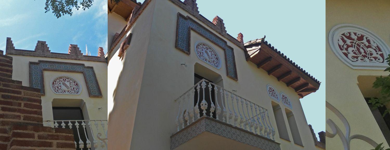 Ornamental Modernismo madrileño en la Colonia de la Prensa