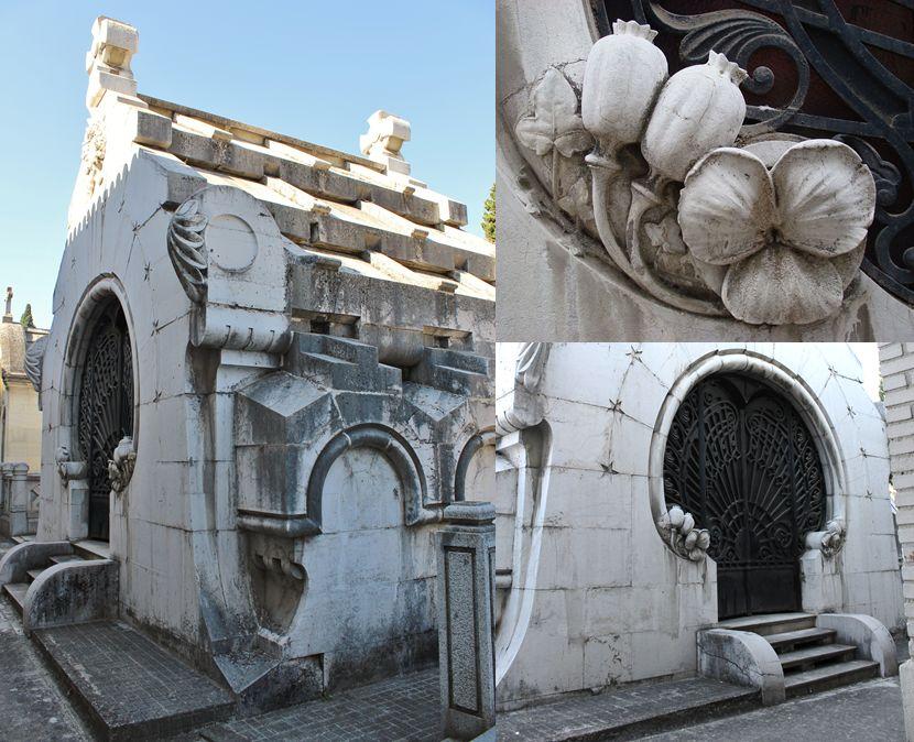 Panteón de José de la Cámara (tercera sección del Patio de Santa Gertrudis en el Cementerio Sacramental de San Justo)