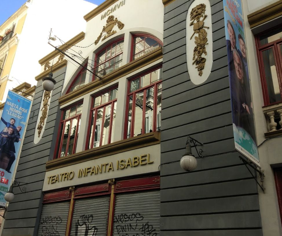 Teatro Infanta Isabel (calle Barquillo, 24)