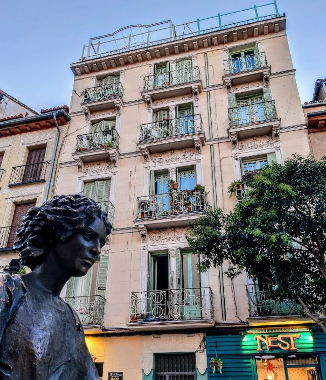 Viviendas para Pedro González (plaza San Ildefonso, 3)